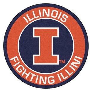 NCAA University of Illinois Roundel Mat By FANMATS