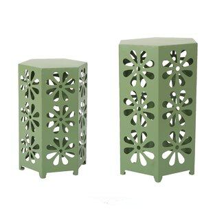 Ebern Designs Juengel 2 Piece Nesting Table Set
