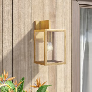 Denzel LED Outdoor Wall Lantern