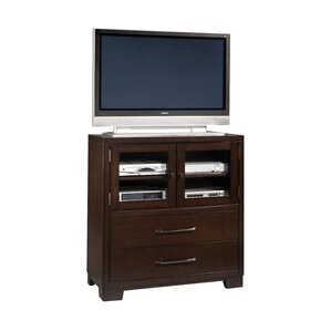 Martinsville Sable 2 Drawer Media Chest by Red Barrel Studio