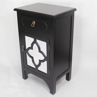 Napolitano 1 Drawer Accent Cabinet