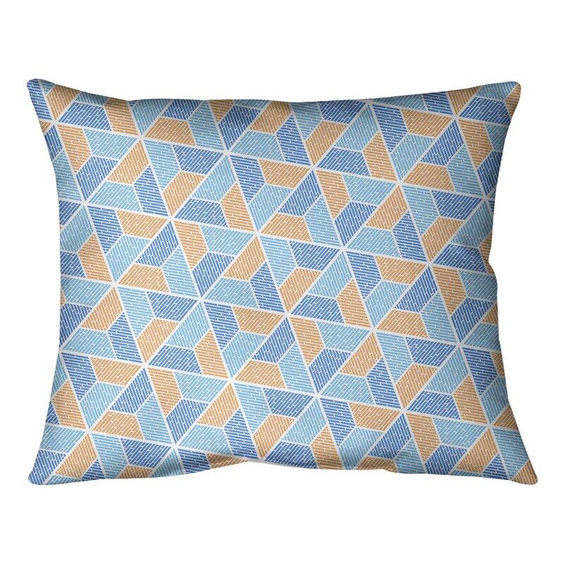 East Urban Home Mcguigan Trapezoids Lumbar Pillow Wayfair Ca