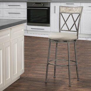 Adriane 26 Swivel Patio Bar Stool