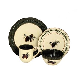 Carlisle 16 Piece Dinnerware Set