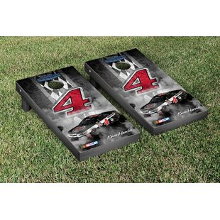 Victory Tailgate NASCAR Kevin Harvick #4 Jimmy Johns Pit Row Version Cornhole Game Set