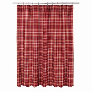 Burley 100% Cotton Single Shower Curtain