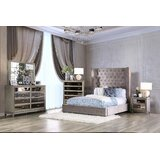 Marvale Queen Upholstered 5 Piece Bedroom Set by House of Hampton