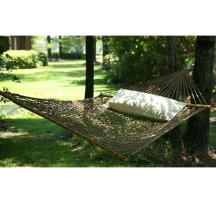 Hamby Large Rope Cotton Tree Hammock