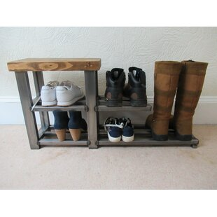 4 Pair Shoe Rack By Union Rustic