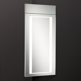 Mica 30cm X 63cm Recessed Mirror Cabinet With Lighting By HIB