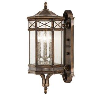 Fine Art Lamps Holland Park 3-Light Outdoor Sconce