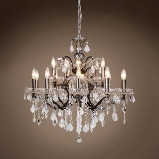 House of Hampton Chantrell 15-Light Chandelier
