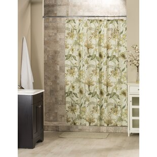 Stokes Cotton Shower Curtain By Bay Isle Home