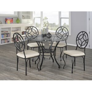 Baltimore 5 Piece Dining Set by Brassex