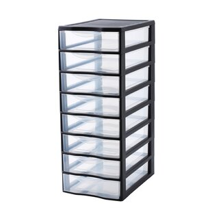Orgamix 8 Drawer Vertical Filing Cabinet By Rotho