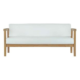 Lounge sofa outdoor teak  Teak Patio Furniture You'll Love | Wayfair