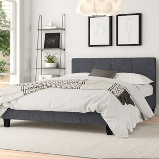 Review Hylton Upholstered Bed Frame