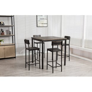 Bushman 5 Piece Pub Table Set ..