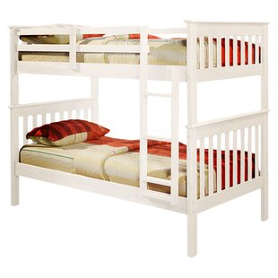 Hollins Twin over Twin Bunk Bed by Harriet Bee