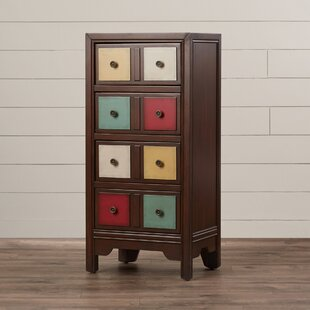 Stonington 4 Drawer Accent Chest by Bungalow Rose