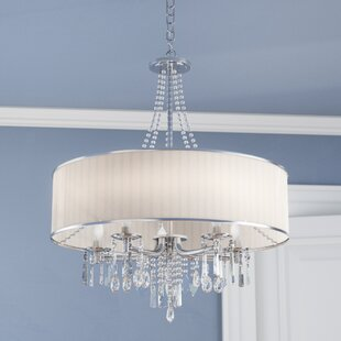 Willa Arlo Interiors Abel 5-Light Chandel..