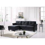 Hungerford 99 Velvet Reversible Sofa & Chaise by Grovelane