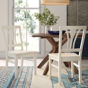 Lynn Fanback Solid Wood Dining Chair (Set..