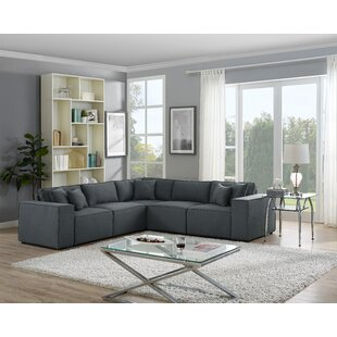 Gracie Oaks Necaise Modular Sectional