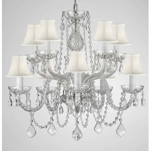 House of Hampton Kesler 10-Light Shaded Chandelier