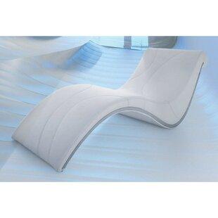 Orren Ellis Desousa Modern Curve Shaped Chaise Lounge