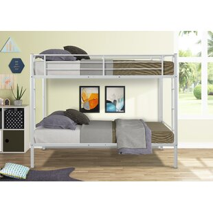 Carstens Metal Twin over Twin Bunk Bed