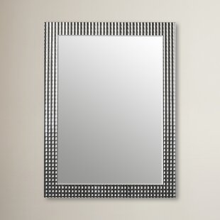 Best Reviews Glam Rectangle Metal Frame Wall Mirror By Willa Arlo Interiors