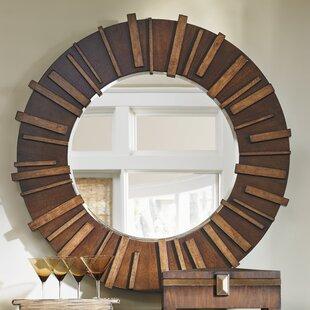 Island Fusion Kobe Round Dresser Mirror by Tommy Bahama Home