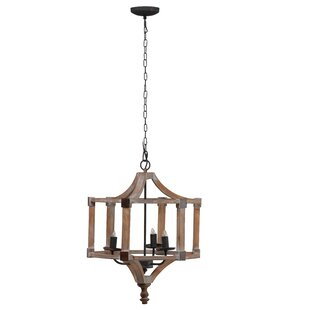 Williston Forge Mcclure Andreas 3-Light Lantern Pendant