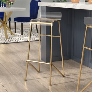 Fanchone 31.25 Bar Stool Willa Arlo Interiors