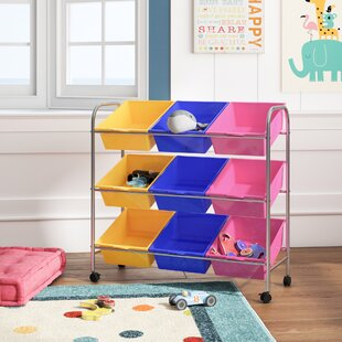 9 Bin Storage for Toys and Crafts