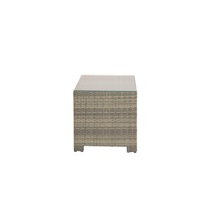 Nieves Wicker Side Table by Rosecliff Heights Comparison