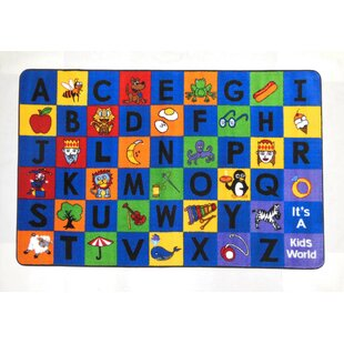 Find for Hartford Power Loomed Blue/Green Area Rug ByZoomie Kids