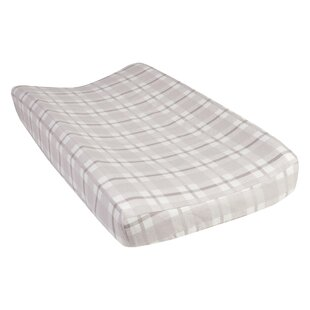 Affordable Masha Plaid Deluxe Flannel Changing Pad Cover ByHarriet Bee