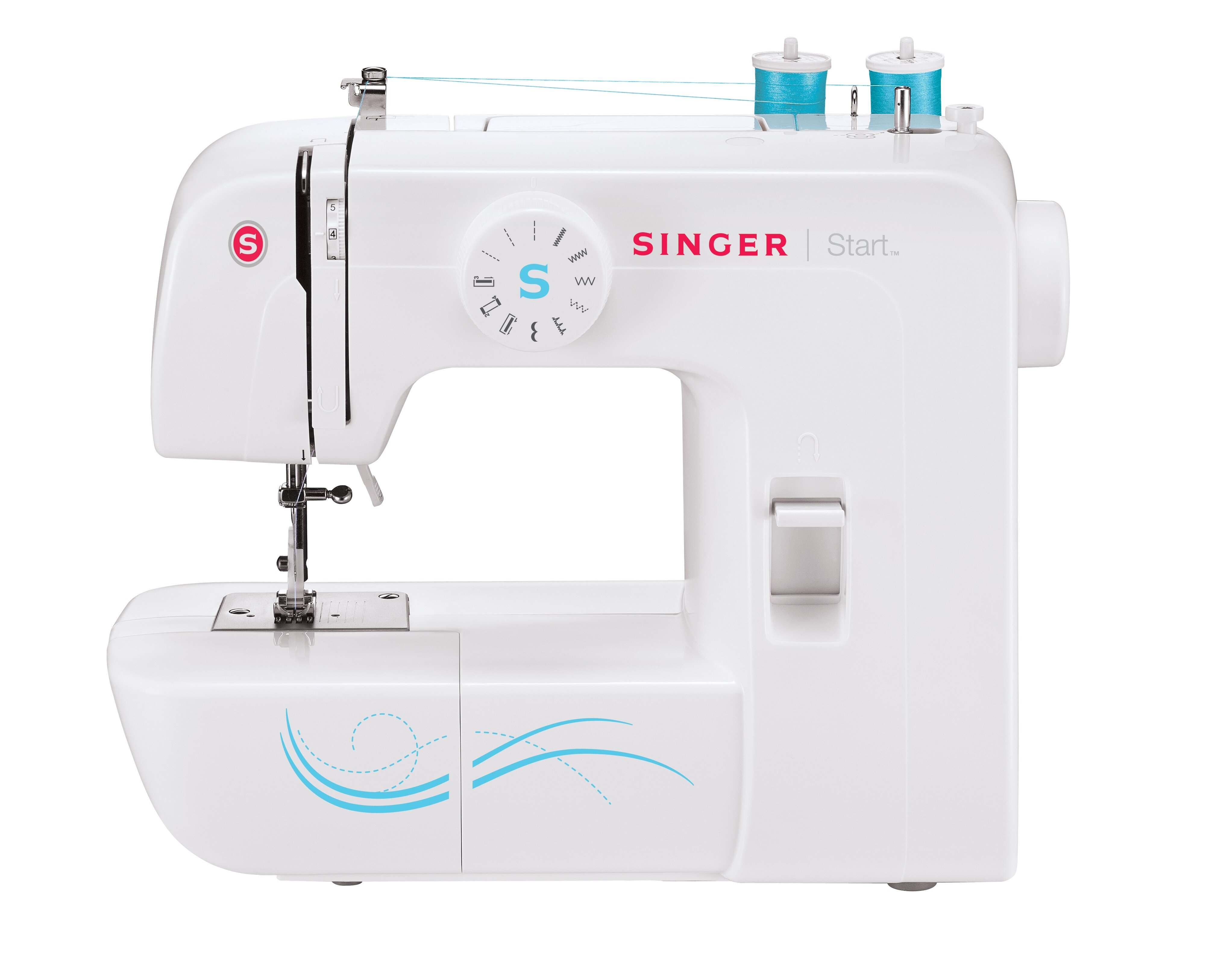 Machine à Coudre Snap On Straight Stitch Foot Fits Singer