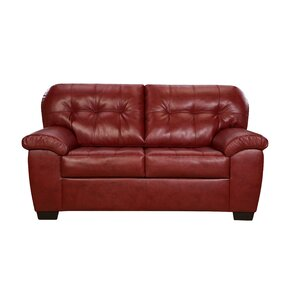 Simmons Upholstery David Loveseat by Latitude Run