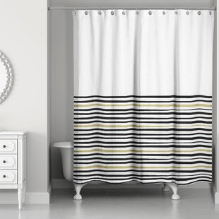 Pelagios Stripe Single Shower Curtain