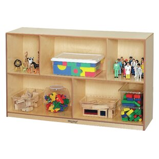 5 Compartment Cubby with Casters By Childcraft