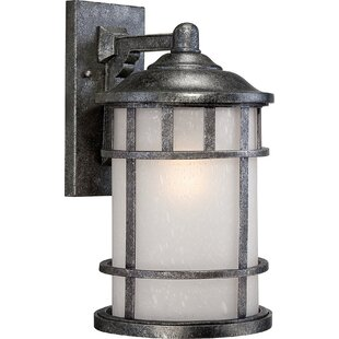 Charlton Home Geyer LED Outdoor Wall Lantern