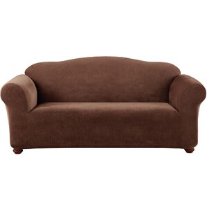 Stretch Pique Box Cushion Sofa Slipcover by Sure Fit