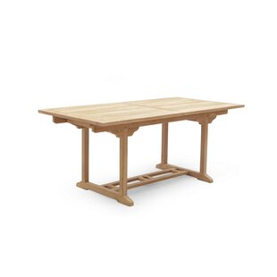 Samant Extendable Teak Dining Table By Sol 72 Outdoor