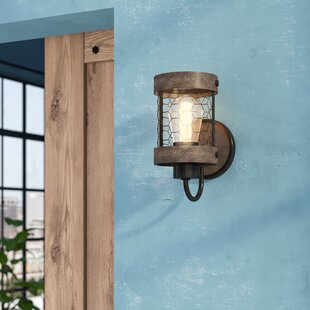 Kronos 1-Light Armed Sconce by Williston Forge