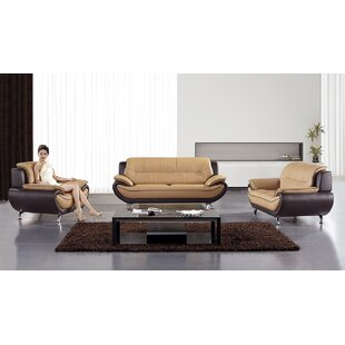 Hennings 3 Piece Living Room S..