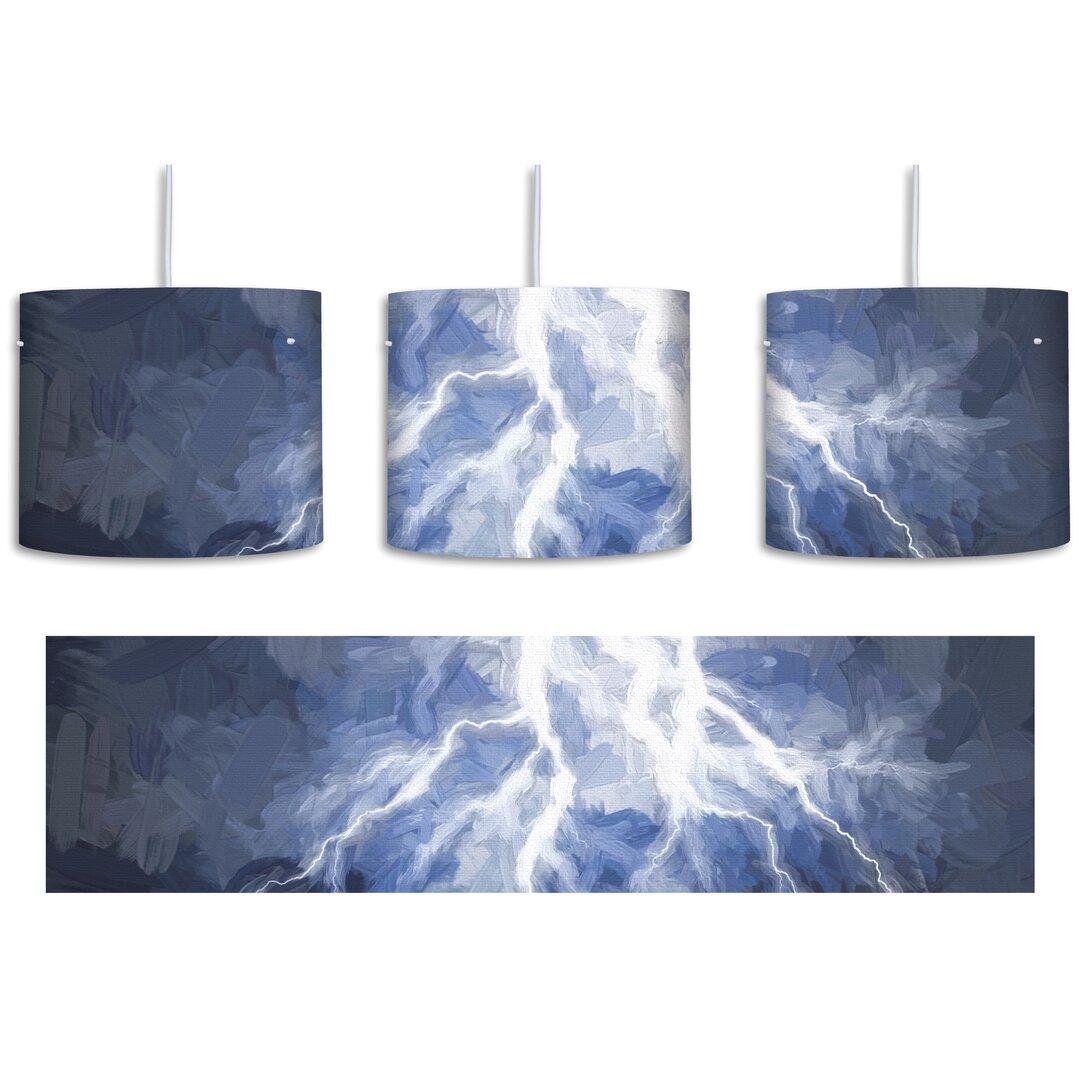 Thunderstorm 1-Light Drum Pendant
