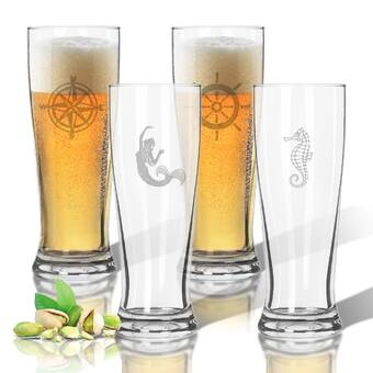 Carved Solutions Garden Tritan 4 Piece 16 Oz Plastic Highball Glass Set Wayfair
